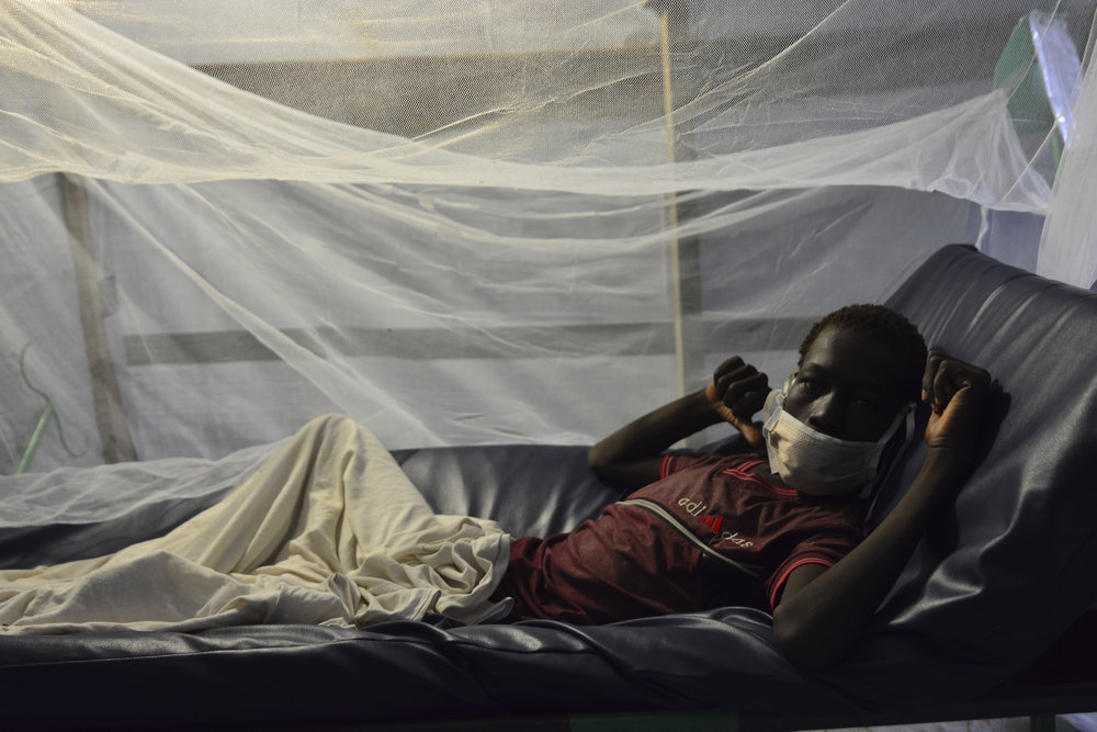 A patient in a Doctor's Without Borders tuberculosis ward.James Sprankle/For The Washington Post