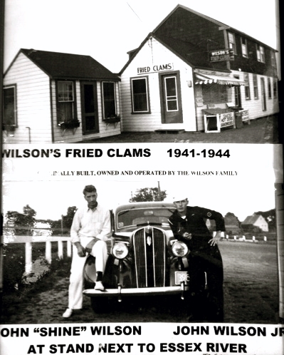 J.T. Farnham's original name in 1941, Wilson's Fried Clams.