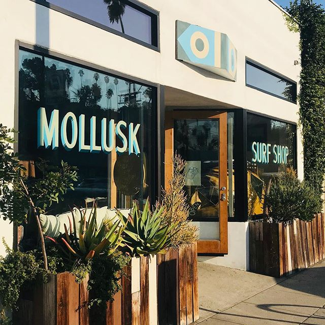 @mollusksurfshop_silverlake a surfing institution with a damm cool vibe! They carry even the rarest of our obscure/ underground/ alt-surf shack pillows.  @mollusksurfshop_venice  #handembroidery  #surfshack  #mollusksurfshop  #obscuresurfculture #alohazen