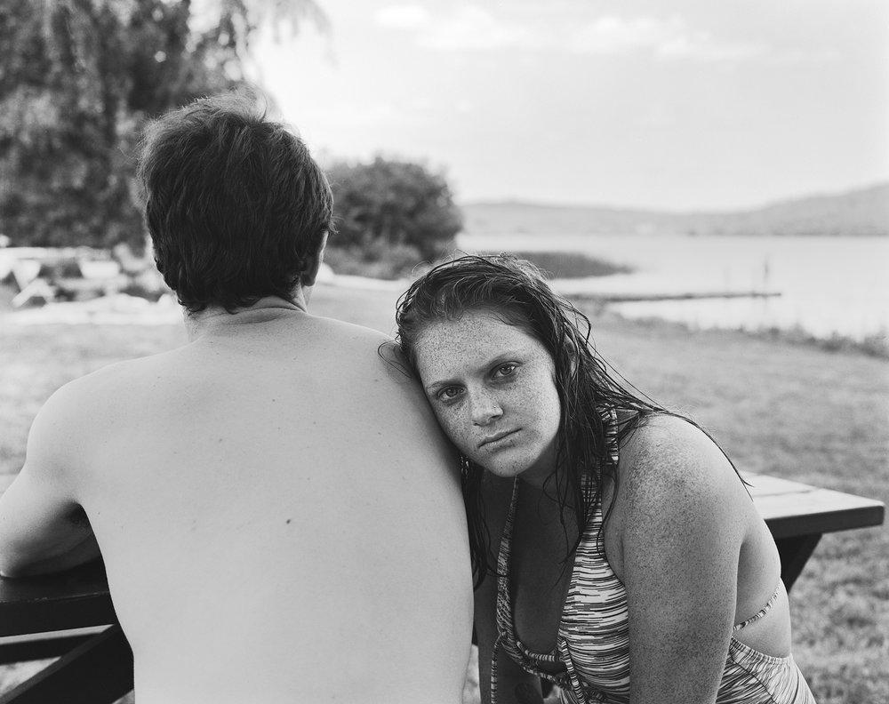Kara and Michael, Chickawaukie Pond