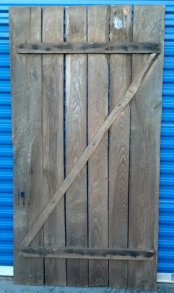 Barn Door #2 Back