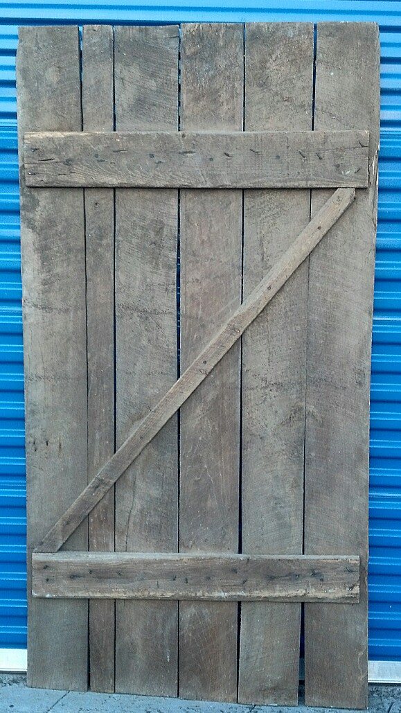 Barn Door #3 Back