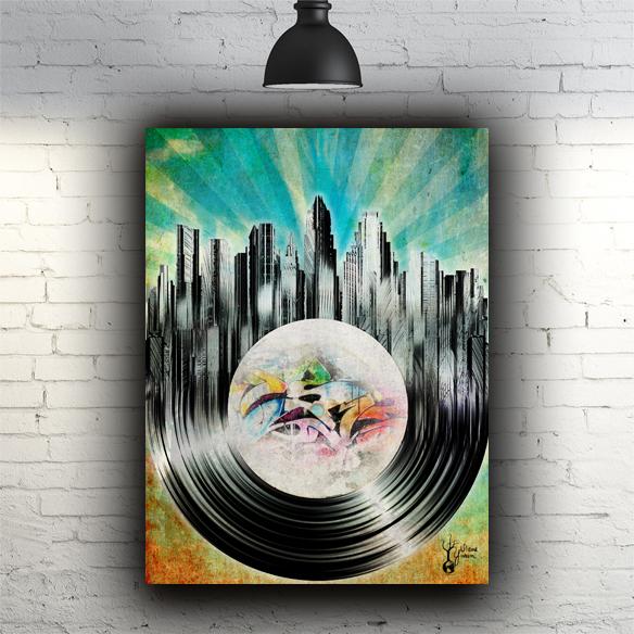 Austin on Vinyl With Brick.jpg