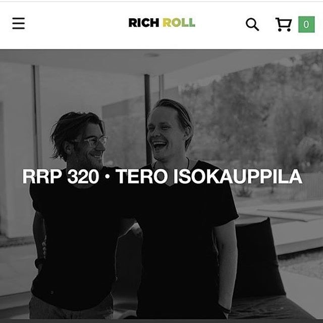 What an awesome podcast #RichRoll is an absolute legend. I loved this episode with Tero and I'm definitely getting some cordyceps from #foursigmatic. Thanks @richroll for the awesome episode, I look forward to hearing them every Monday! #richandtero