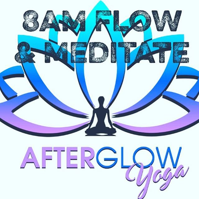 This weekend starts my new 8am flow & meditate class @afterglowyogali.  I'll be doing the flow & meditate on Saturday's & Sunday's! 🙏🏻🙏🏻🙏🏻🙏🏻🙏🏻🙏🏻🙏🏻🙏🏻🙏🏻What better way to start your day than with an energetic flow followed by a peaceful meditation. Sounds like a perfect Saturday morning to me!