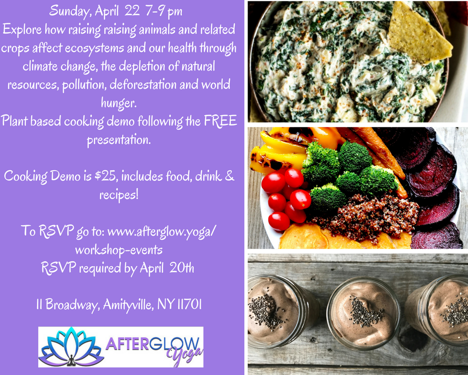 Explore the connection between diet and heart disease cancer obesity and diabetes Learn how informed dietary choices can prevent  reverse disease.Plant based cooking demo followonf the FREE presentation.Cooking Demo is 25 includes food drink  r.png