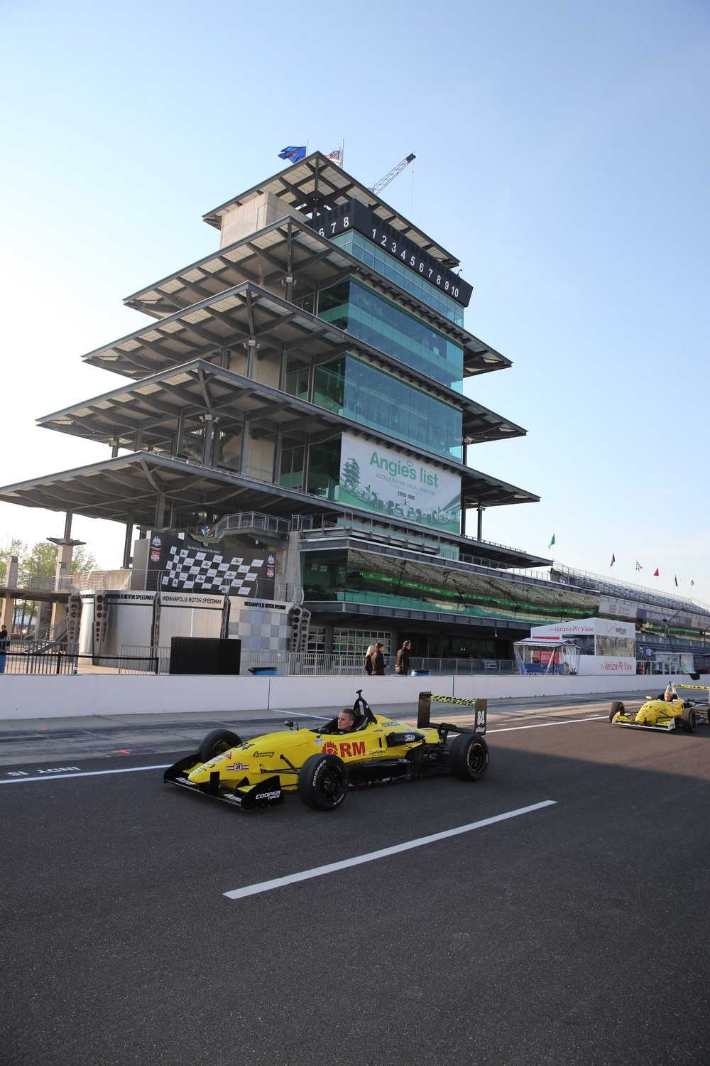 The Pagoda at the Indianapolis Motor Speedway