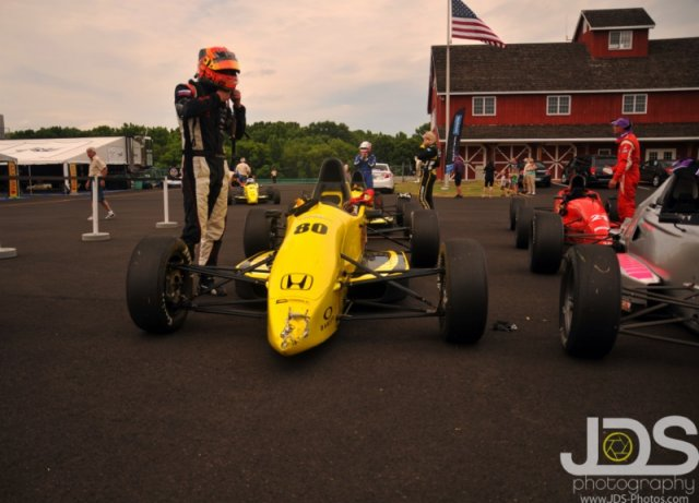 Bump-drafting to a podium at VIR