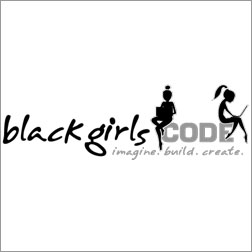Black Girls Code / Web Splash Page / January 2017