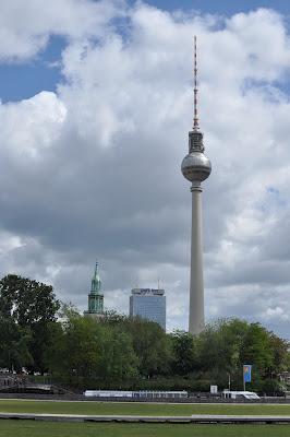 The TV Tower in Alexanderplatz