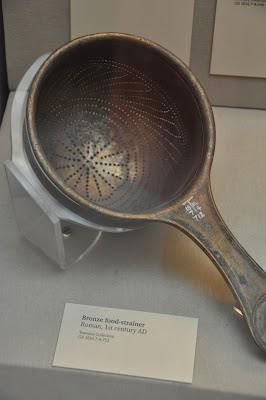 Dear Ancient Romans, I love your fancy-schmancy strainer.  Can you send me one?