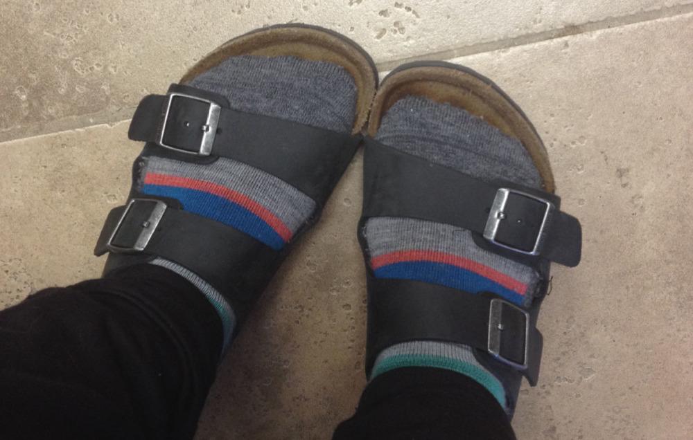 1.28.15 - Birkenstock Socks