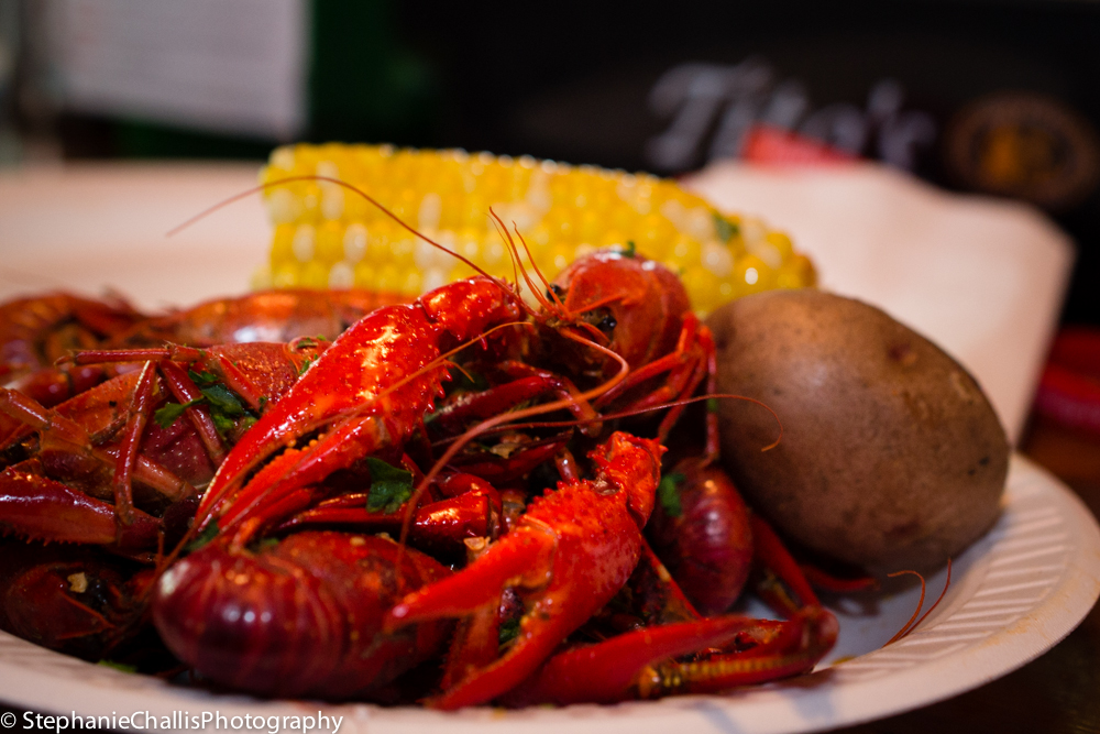 Crawfish at The Crawfish Festival @ Hatties - Saratoga Springs, NY!