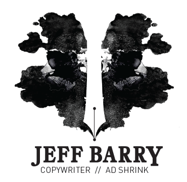 Jeff Barry - Copywriter // Ad Shrink