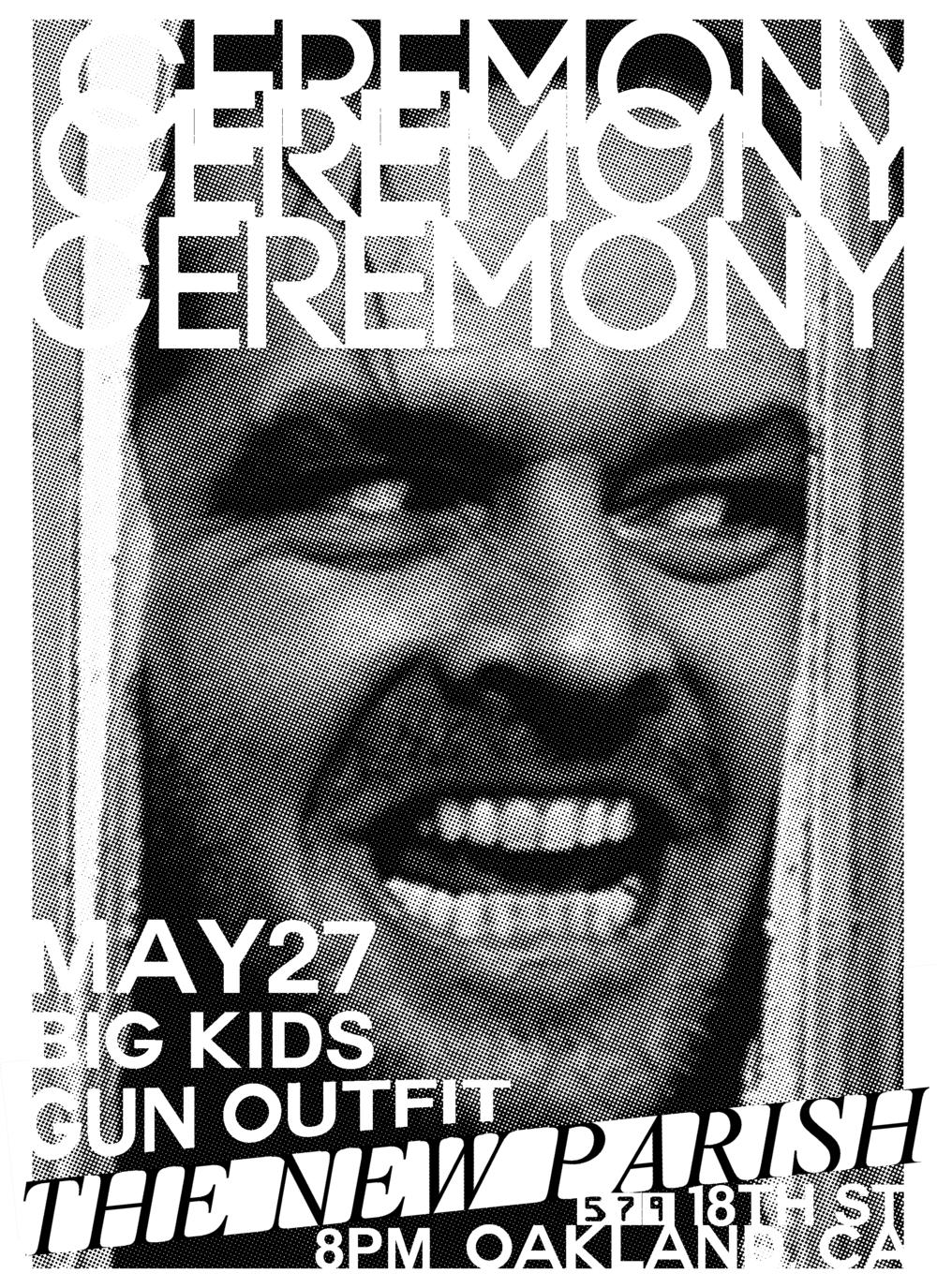 Punk bands, Local Bay Area, CA rock show flyer