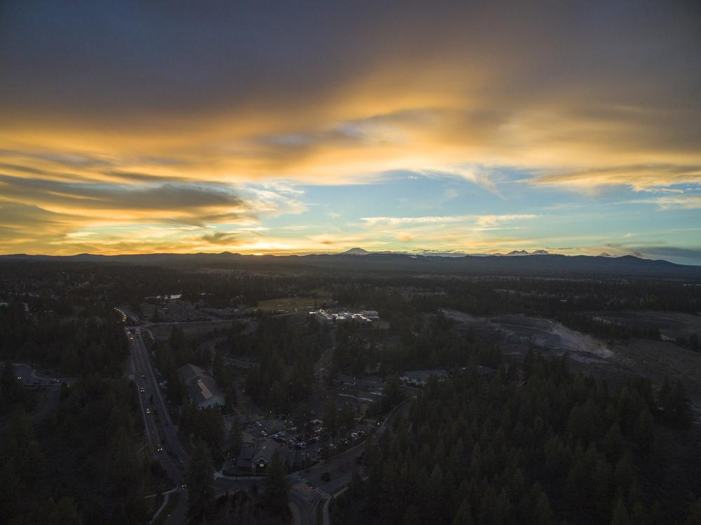 bend oregon sunset