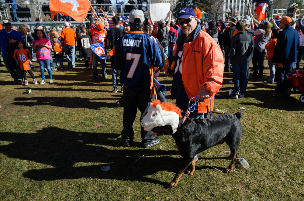 Denver Broncos Super Bowl rally 2016