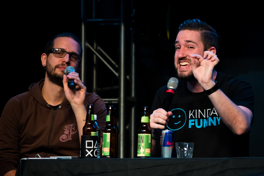 Colin and Tim at PSILoveYouXOXO Live