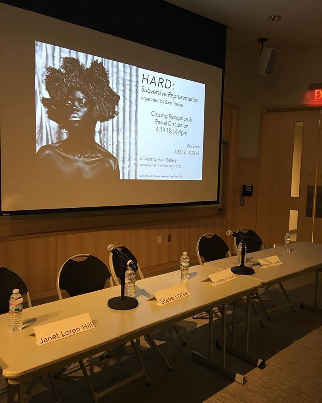 See you in a moment.... @uhgallery  #artisttalk #paneldiscussion #bostonartist #talkingaboutart #visibilty #personalispolitical #gender #representation
