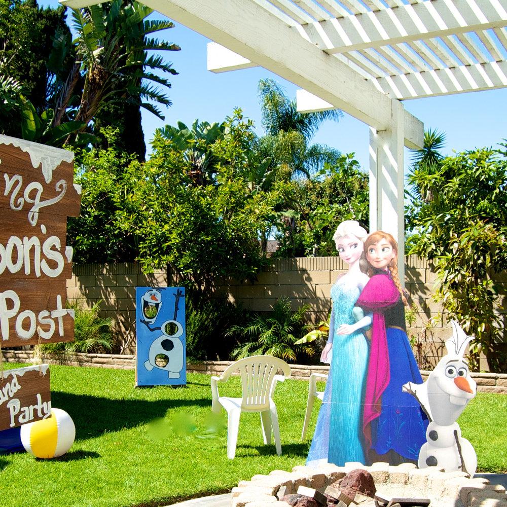 frozen backyard bash u2014 time 2 plan a party