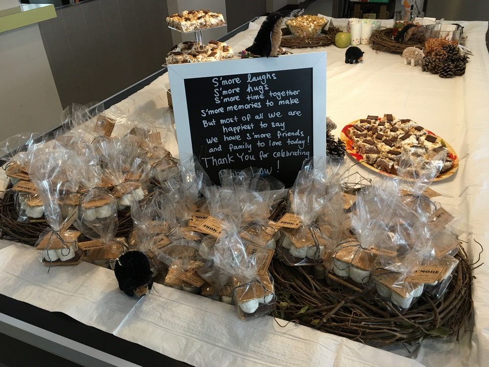 take home S'more favors!