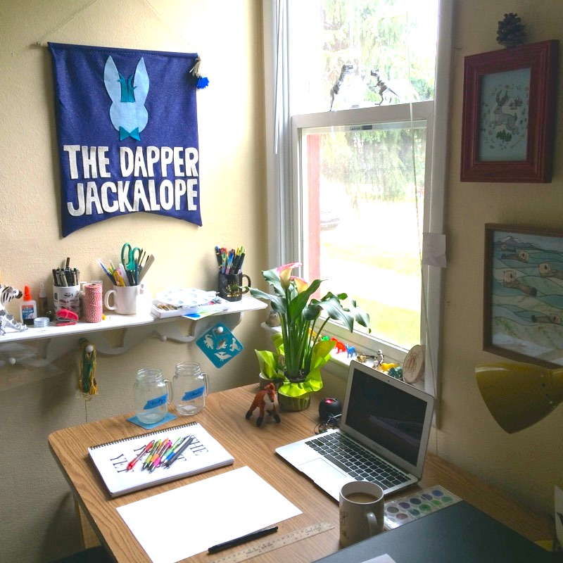 Studio Tour — The Dapper Jackalope