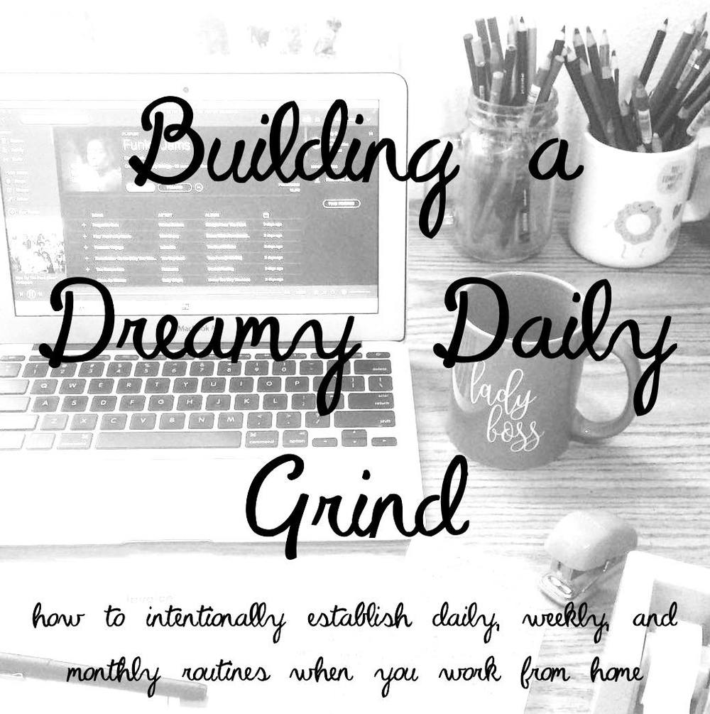 My daily, weekly, and monthly routines as a full-time artist, plus tips for how to create your own dreamy work routines for happiness, health, and long-term success!