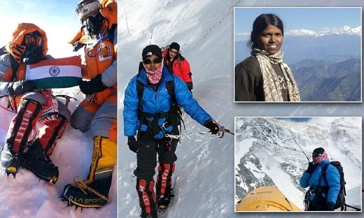 On Sunday, May 25th, 2014, India's Malavath Poorna, became the youngest female to climb to the summit of the world's highest peak - Mount Everest. The 13-year-old girl handily surpassed the previous record holder - Nepal's Nima Chemji Sherpa, who accomplished same feat in 2012, at the age of 16.    While that in itself is impressive, what is even more so is the journey that culminated in this amazing achievement. Unlike many young climbers who come from privileged families, Malavath hails from a poor farming family. Though her small village of Pakala lies just 200 km north of the bustling city of Hyderabad, it is hard to access, given that there are no permanent roads leading to it.    It is therefore not surprising to hear that most Pakala girls never see the inside of a school. Malavath is one of the fortunate ones that managed to buck the trend thanks to Swaeroes, a welfare organization whose mission is to help India's underprivileged reach their full potential. They helped enroll the young girl in a nearby boarding school. Then about nine months ago, Swaeroes provided her with the opportunity to achieve this impossible dream by offering mountaineering training. Not one to pass up an exciting adventure, the athletic girl signed up, along with 150 other underprivileged youngsters. Almost immediately, Malavath impressed the instructor Parmesh Kumar, with her determination and grit.    It was therefore not surprising to hear that she was one of the twenty selected for the professional training session at the Darjeeling Himalayan Mountaineering Institute from October 26th to November 16th, 2013. At the end of the two-week period, only two youngsters were selected for the dangerous climb - Malavath was one of them!    Then came the big day - On April 15th, 2014, Malavath and 16-year-old S. Anand Kumar along with their guide Shekhar Babu and a team of sherpas began the treacherous 8,848-meter (29,029-foot) trek. While most climbers attempt the peak from the slightly easier Nepalese side, this team had to go via the harder Tibetan side. That's because the government of Nepal does not allow anyone younger than 16, to scale the route.    It was not easy. In fact, Malavath was sent back to base camp after she experienced altitude sickness when she got to the advanced base camp set up at an altitude of 6,400 meters. However the determined youngster returned three days later, and insisted on continuing. It took 52 days, but on May 25th, 2014, Malavath, who made it to the summit a few minutes ahead of 16-year-old Anand, proudly hoisted her country's flag at the top of the world. The young girl hopes that her achievements will inspire underprivileged people and girls all over the world, to try achieve their dreams.
