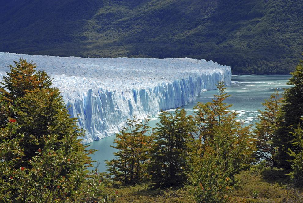 Perito Moreno Glacier in southwest Santa Cruz province, Argentina