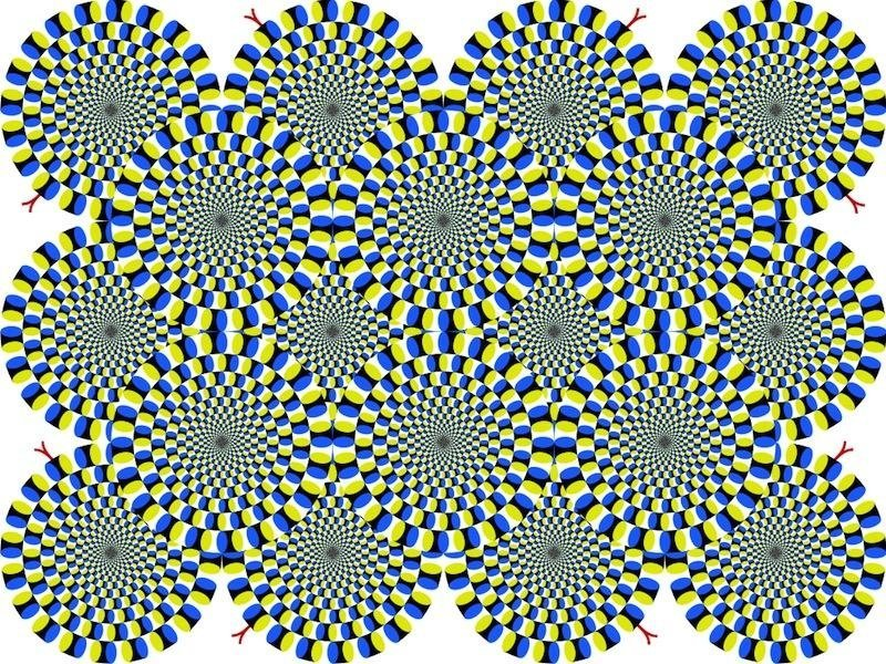 Are the circles spinning? They're not!