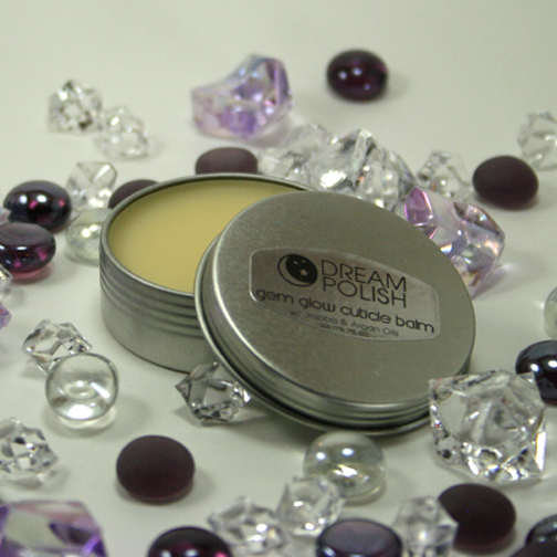 Customer demand brings back this convienient, yet long-lasting size of Gem Glow Cuticle Balm!