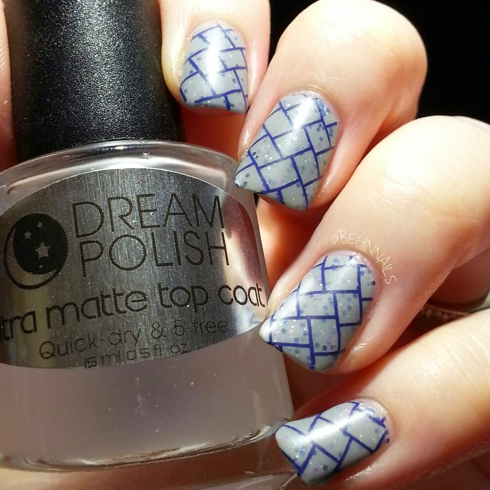 Kristi (@beginnails) reviews our Ultra Matte Top Coat with several indie polishes