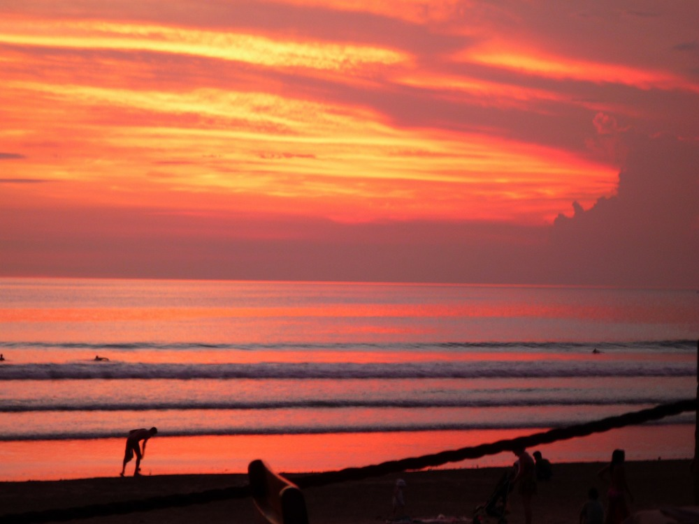 Magnificent Sunset in Bali.