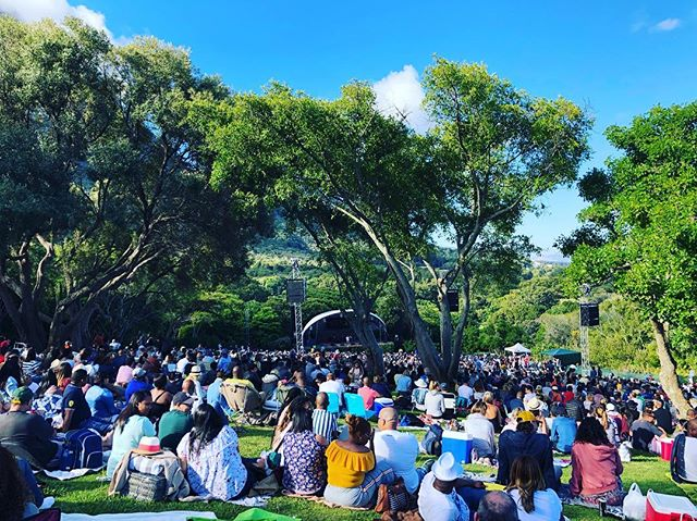 Mi Casa live At Kirstenbosch Botanical Gardens. Gotta love summer in Cape Town❤️ #capetown @micasamusic #travel #music #summer