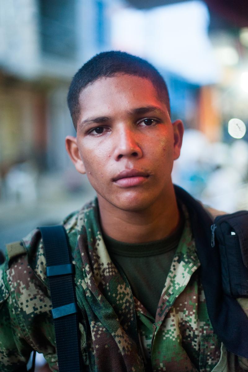 Capurganá Columbia Soldier