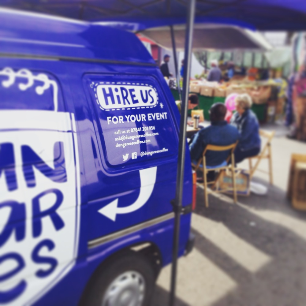The blue options - hire one or all of our vans today