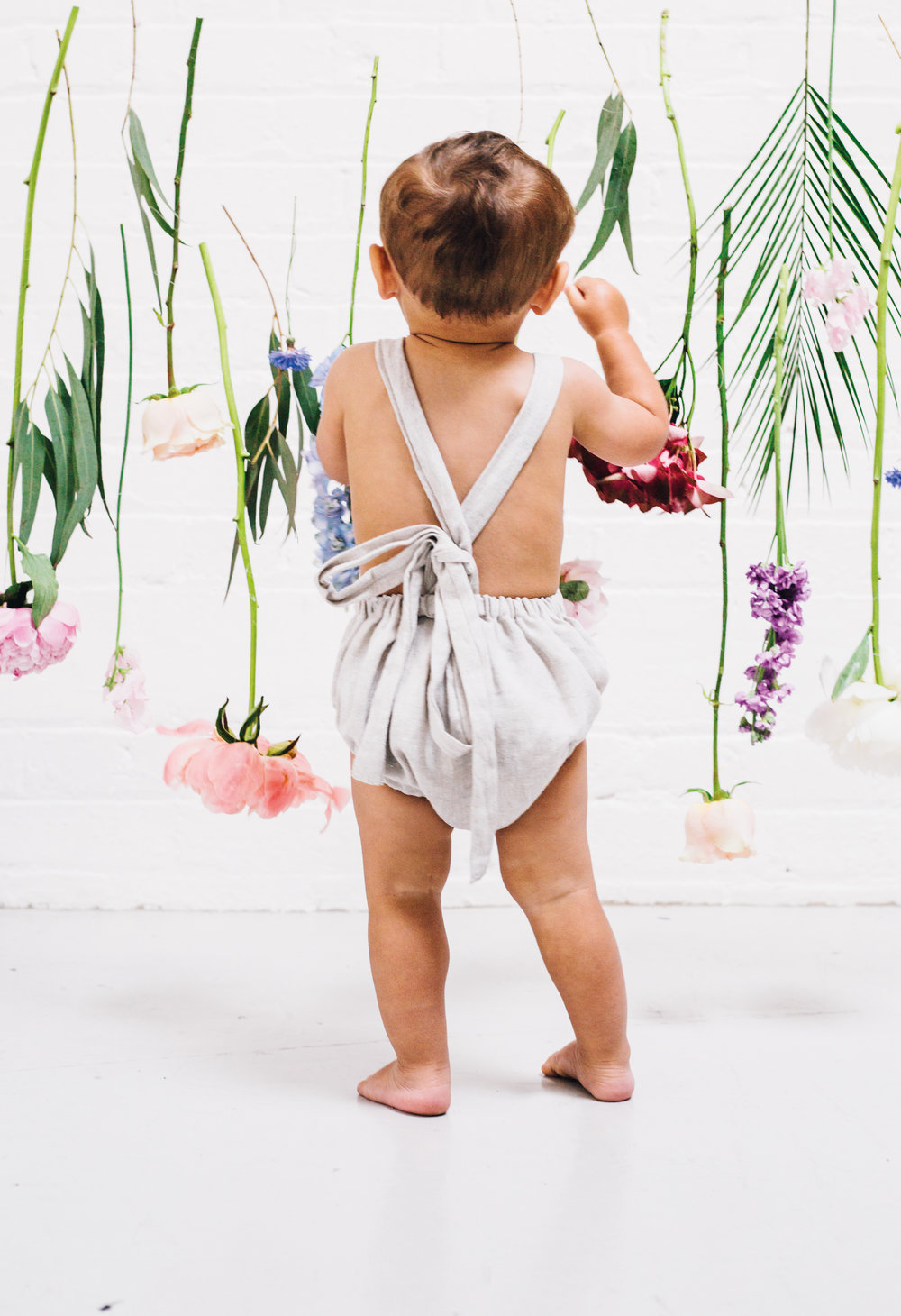Summer whites, editorial for Baby London, July 2017