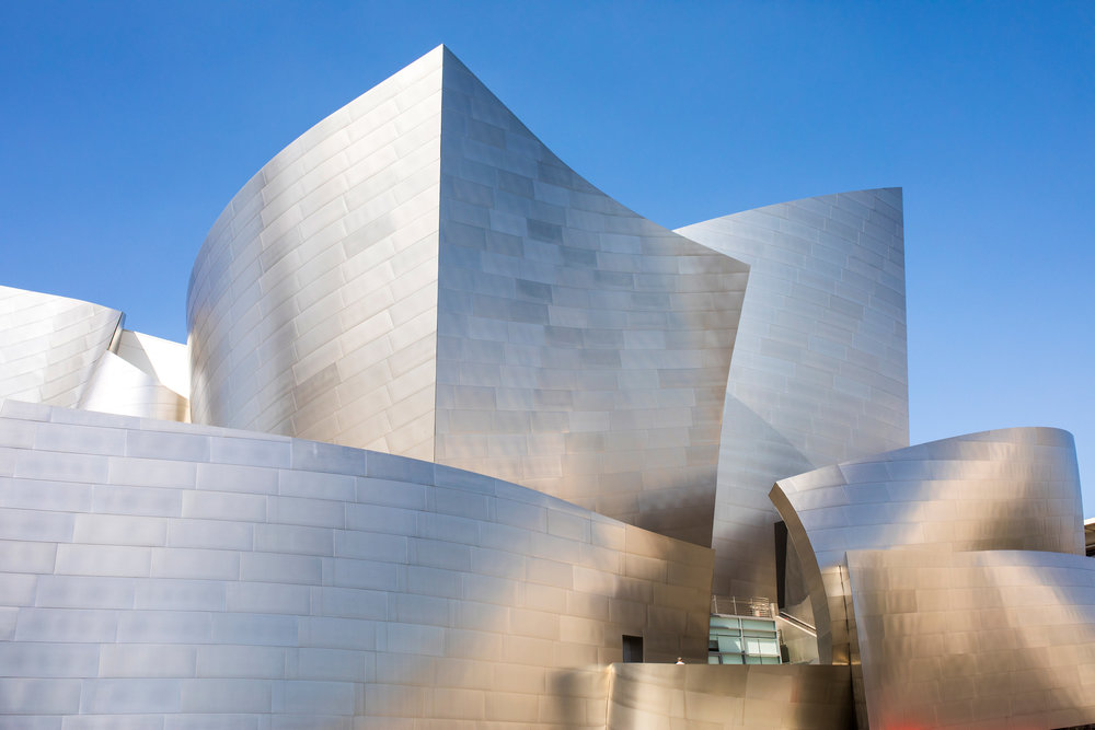 Walt Disney Concert hall photography in LA