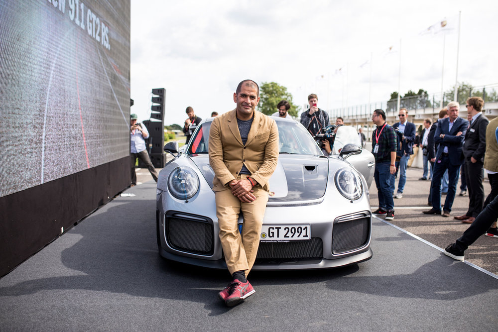 Chris Harris Top Gear at Porsche Launch