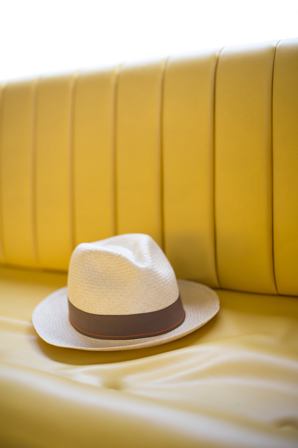 panama hat branded for jaeger-LeCoutre
