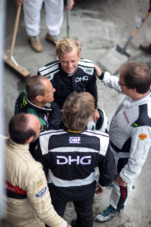 TT Trophy racing driver