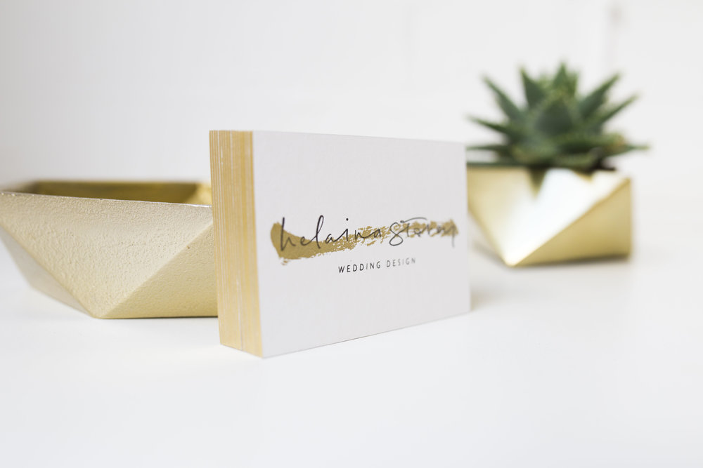 Luxury Business Cards Helena Storey