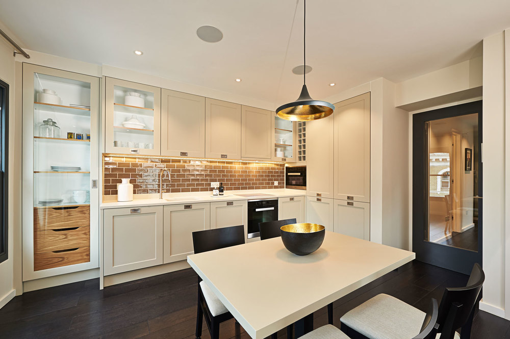 Fulham Road – a Shaker-style kitchen with a modern twist