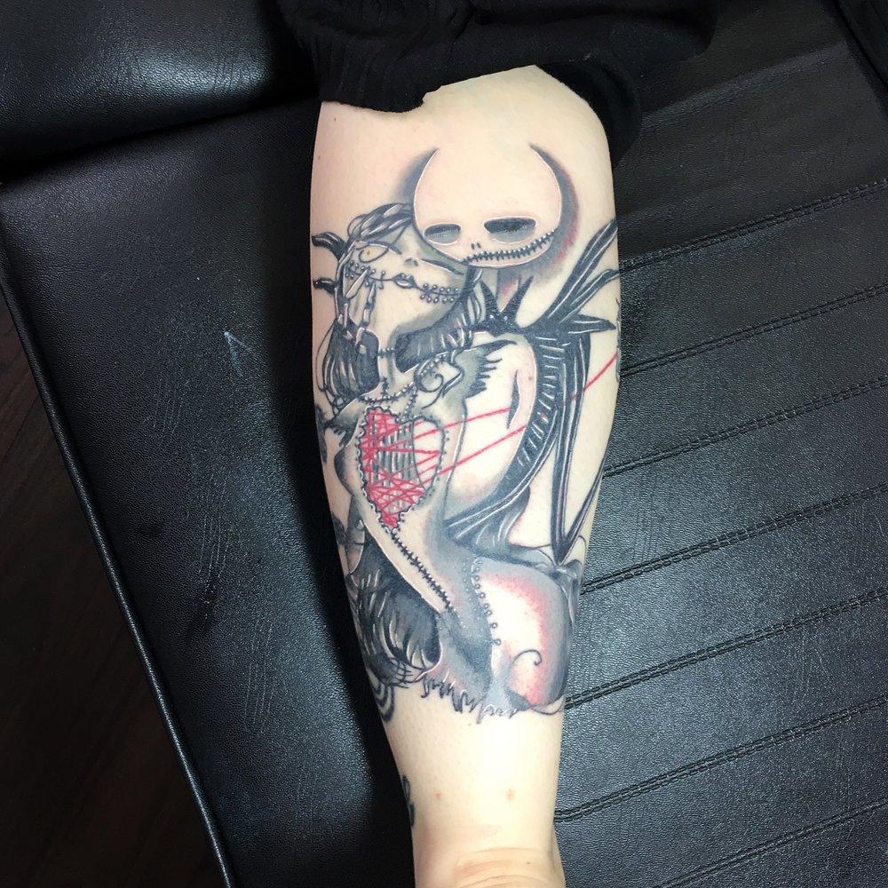 jack and sally nbc tattoo by mel hanson