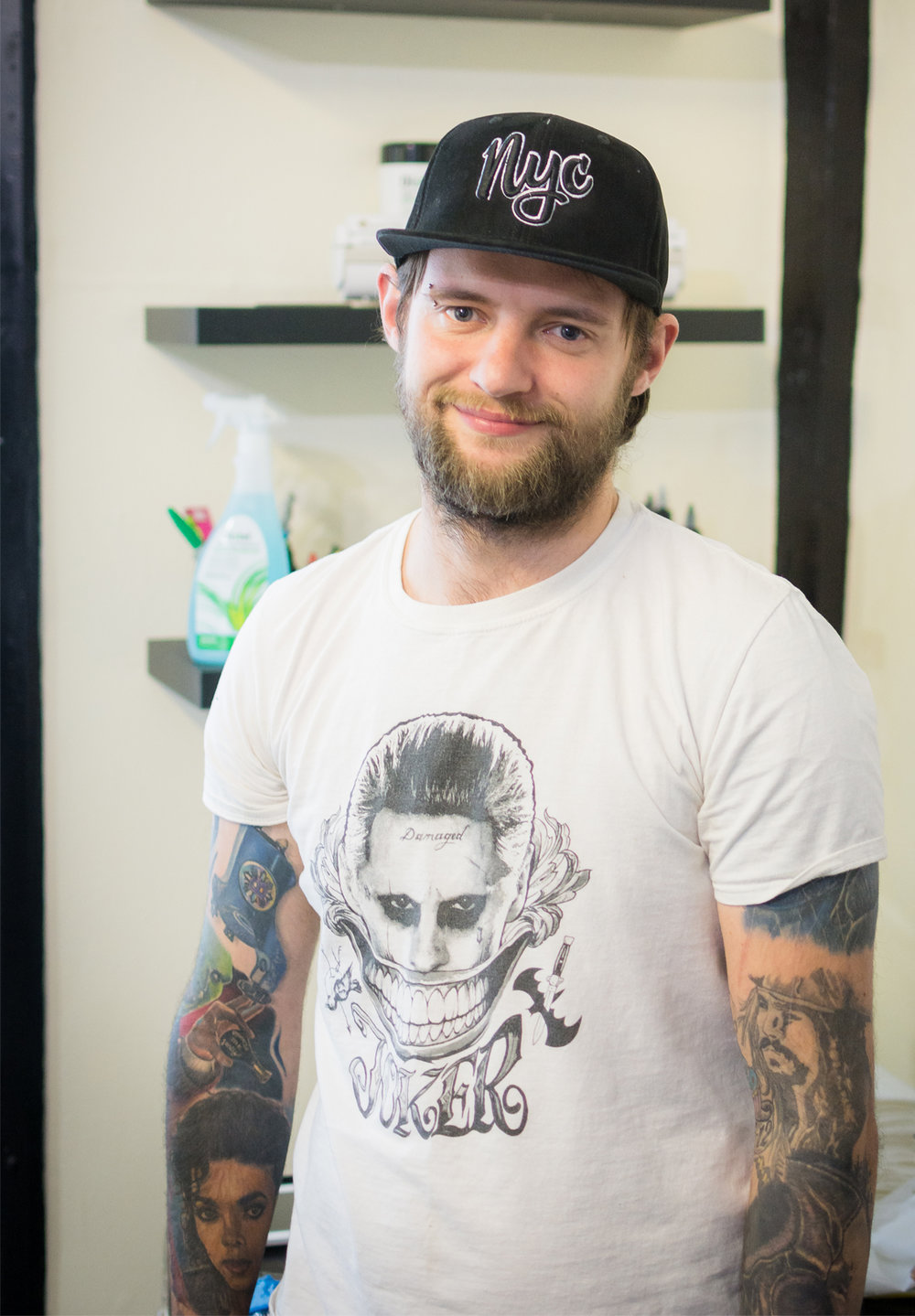 Wayne Baker tattoo artist sittingbourne