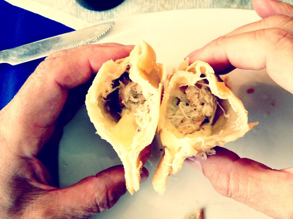 Shellfish empanada