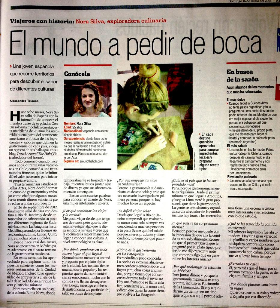 Reforma Newspaper Mexico