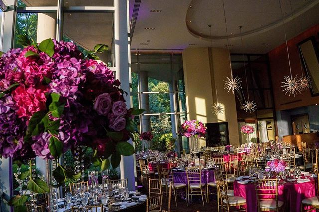 When I was a little girl, pink and purple were my FAVORITE colors (they still rain in my top 5) so when our bride @mrs.syditty told us she loved the color pink, we ran with it! Still loving the vibrant design for this gorgeously eclectic venue.  Photography: @ashleighbing Venue: @2941 Rentals: @TableManners Flowers: @bellafiorievents  #luxeweddings #luxuryweddingplanner #dmvweddings #dmvweddingplanner #vaweddingplanner #mdweddingplanners