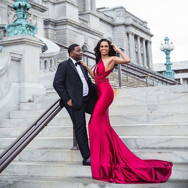 S.T.U.N.N.I.N.G. 🥰 We've got all the oohs and aaah's over the engagement shoot from our #edgcouple Lydia & Tory.  Photo slayage by @judahavenue & flawless beauty by @imageconcierge