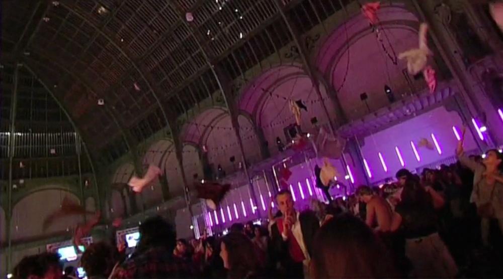 L  a Nuit-Electro SFR au Grand Palais
